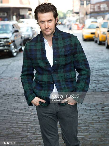 British actor Richard Armitage is photographed for Self Assignment on October 4, 2013 in New York City.