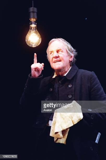 British Actor Richard Briers Stars in a new production of Charles Dickens' story 'A Christmas Carol'