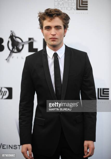 British actor Robert Pattinson arrives to attend the Amfar auction on May 21 2009 in Antibes southern France AFP PHOTO MARTIN BUREAU