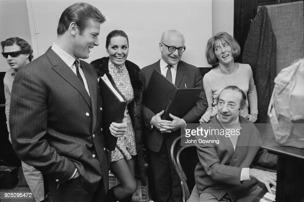 British actor Roger Moore Israeli actress singer and model Daliah Lavi British actor David Kossoff British ballerina and choreographer Gillian Lynne...