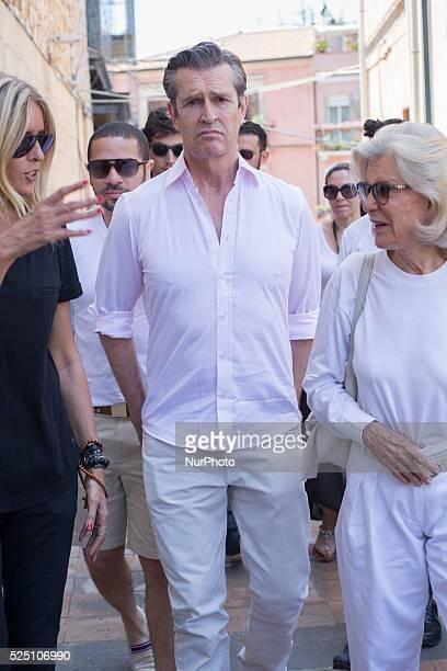 British actor Rupert Everett attends the 61st annual Taormina Film Festival Taormina Sicily Island Italy on June 20 2015