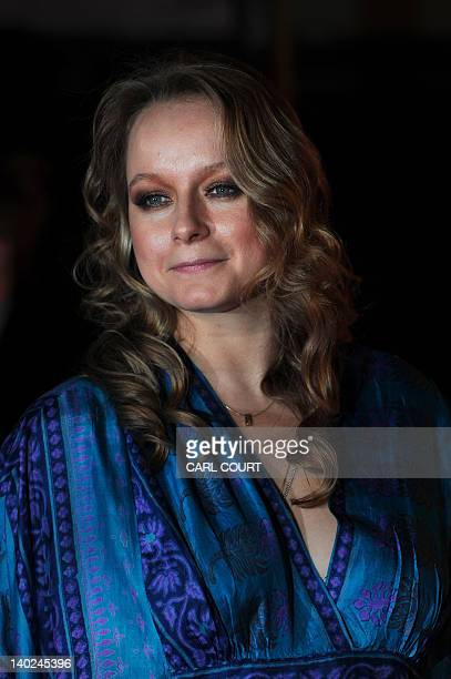 British actor Samantha Morton attends the UK premiere of John Carter in central London on March 1 2012 AFP PHOTO/ CARL COURT