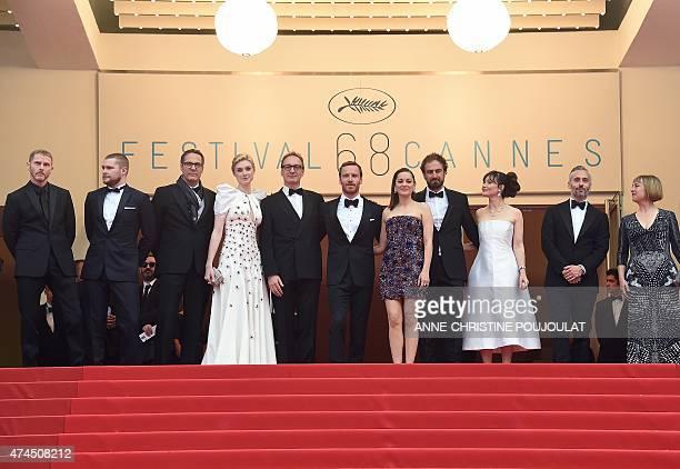 British actor Sean Harris US actor Jack Reynor a guest French actress Elizabeth Debicki British actor David Thewlis GermanIrish actor Michael...