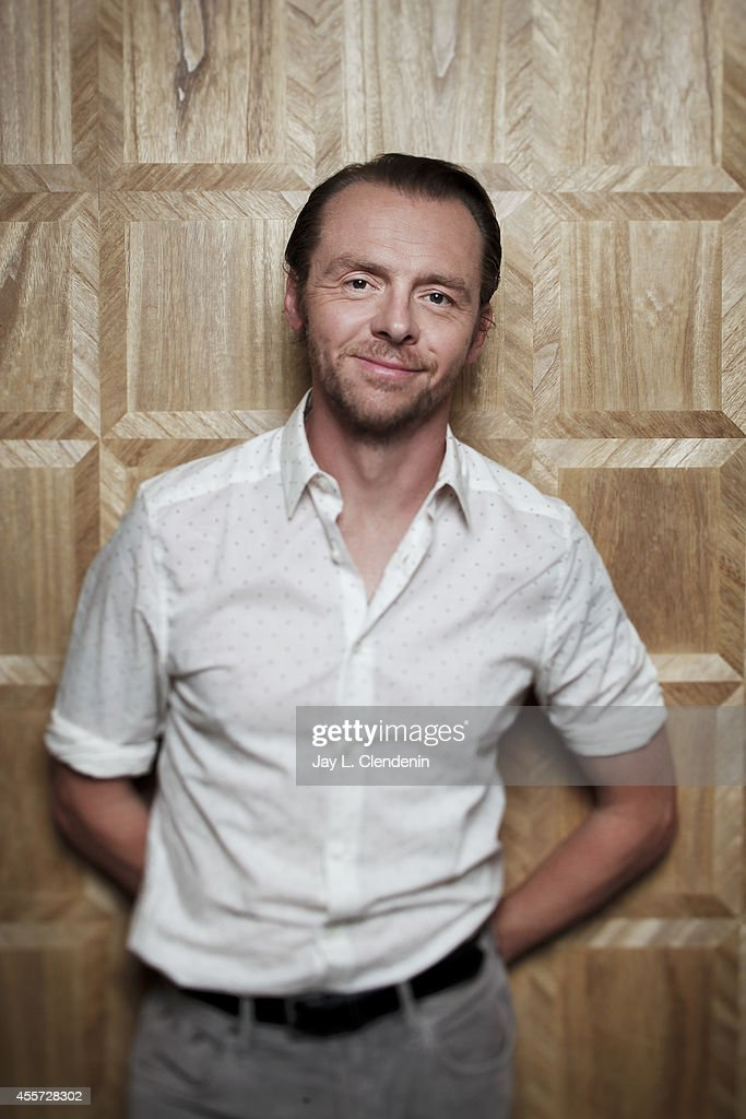Simon Pegg, Los Angeles Times, September 18, 2014