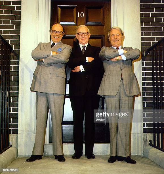 British Actor Sir Alec Guinness With Eric Morecambe and Ernie Wise