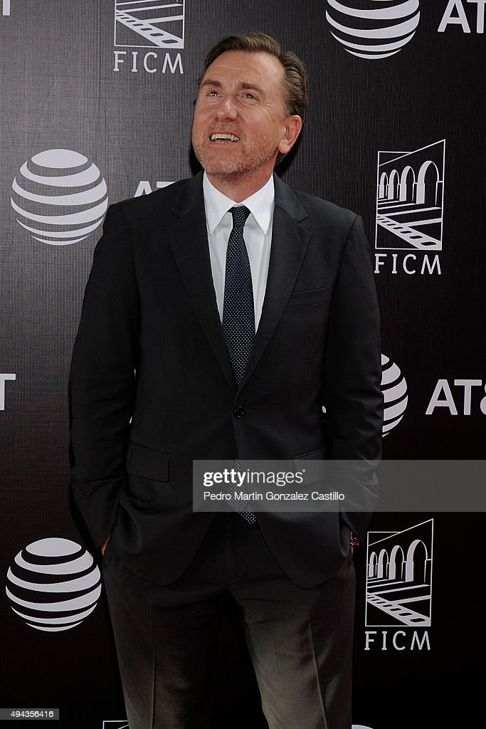 British actor Tim Roth attends the 13th Annual Morelia International Film Festival on October 25, 2015 in Morelia, Mexico.