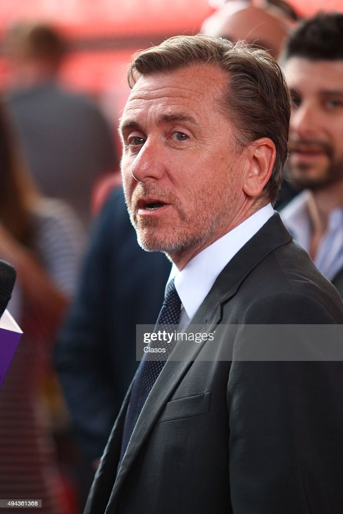 British actor Tim Roth looks on during the 13th Annual Morelia International Film Festival on October 25, 2015 in Morelia, Mexico.
