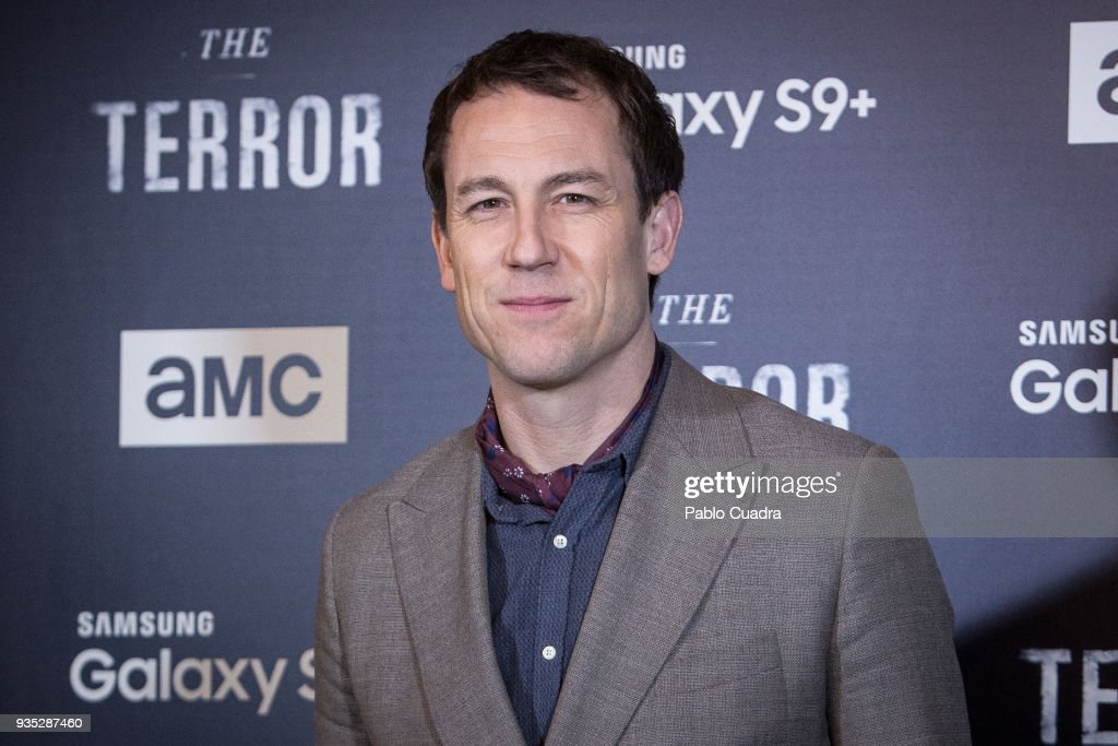 British actor Tobias Menzies attends 'The Terror' premiere at Philips Theater on March 20, 2018 in Madrid, Spain.