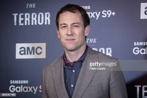 British actor Tobias Menzies attends 'The Terror' premiere at Philips Theater on March 20 2018 in Madrid Spain