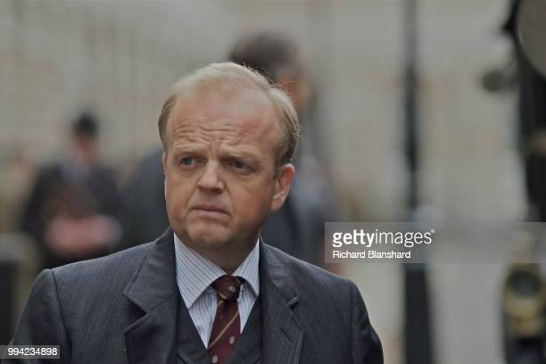 British actor Toby Jones as English mathematician John Edensor Littlewood in the biographical film 'The Man Who Knew Infinity' 2015