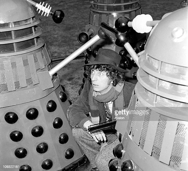 British actor Tom Baker who plays the Doctor in the BBC Television Series Dr Who 5031975