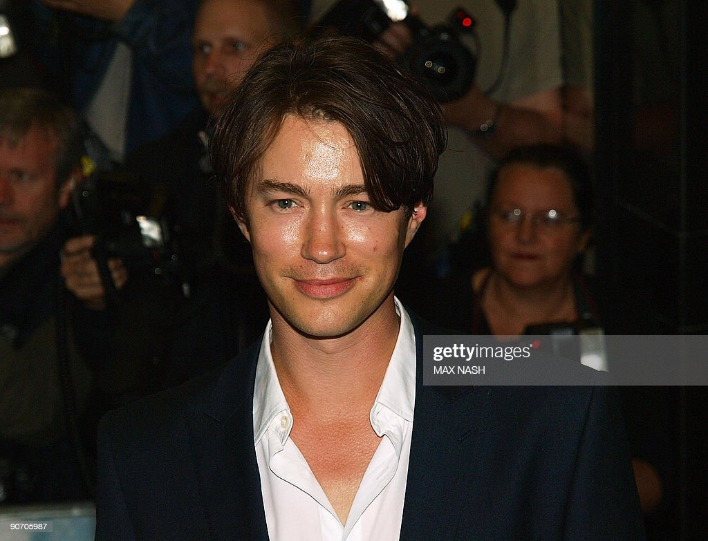 British actor Tom Wisdom is seen on his arrival in London's ...