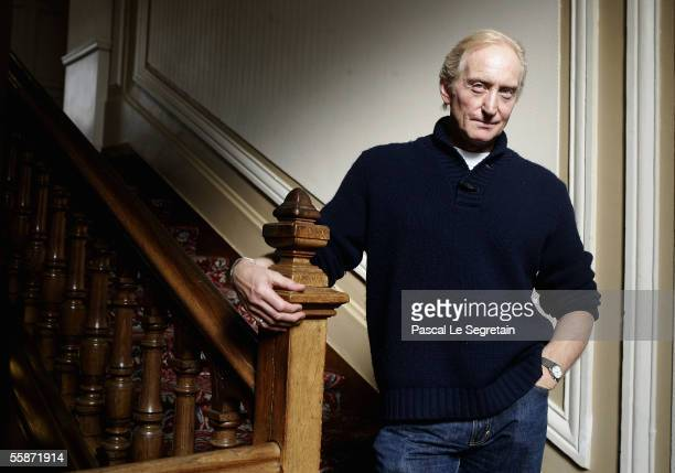 British actor/director Charles Dance poses during a photocall on October 7 2005 in Dinard France The President of the 16th Dinard British Film...
