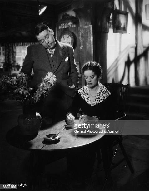 British actors and real life husband and wife Charles Laughton and Elsa Lanchester originally Elizabeth Sullivan in the film 'Vessel of Wrath' aka...