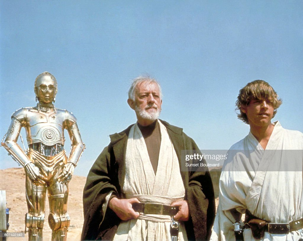 British Actors Anthony Daniels Alec Guinness And American Mark News Photo Getty Images