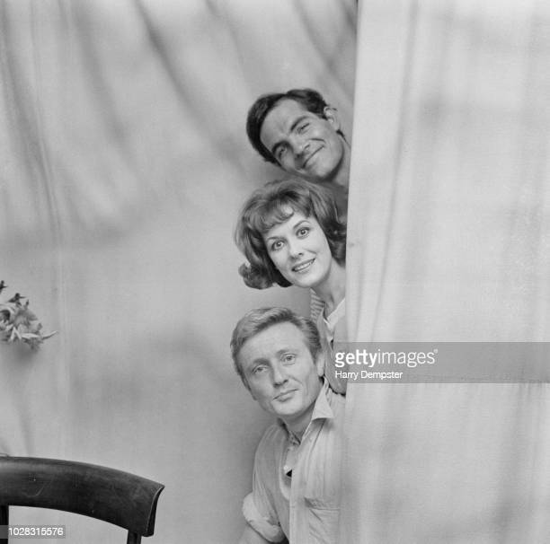 British actors Gary Raymond Anne Rogers and Gary Miller costars in the musical 'She Loves Me' UK 27th July 1964