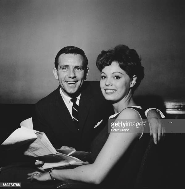 British actors Irene Barrie and Norman Wisdom UK 25th May 1961