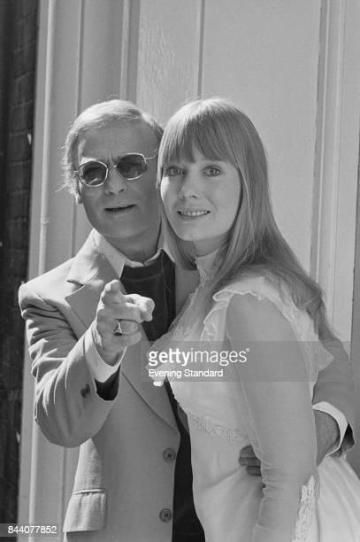 British actors Jane Wymark and Edward Woodward , UK, 13th April 1978.