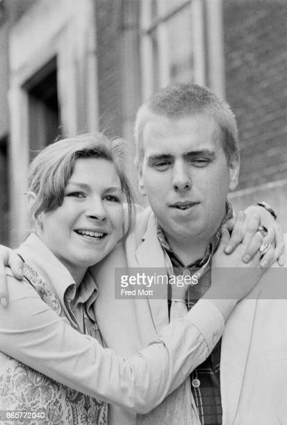 British actors Lisa Tramontin and Timothy Spall winners of the Ronson Awards for the most promising actor and actress of the year at the Royal...