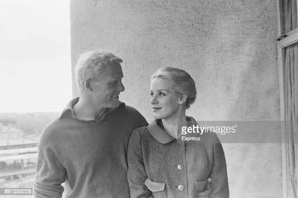 British actors Mary Ure and Robert Shaw UK 16th May 1963