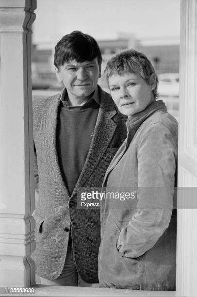 British actors Michael Williams and Judi Dench UK 18th October 1983