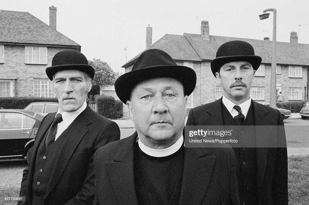 British Actors Neil McCarthy (1932 1985) On Left, Donald Pleasence (1919