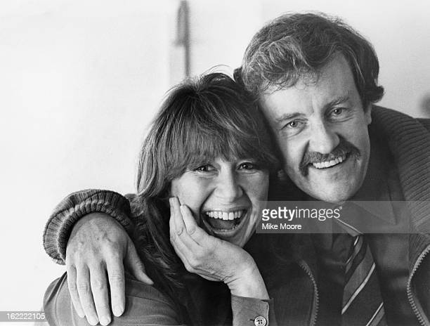 British actors Nerys Hughes and Richard Briers 8th October 1980 They are appearing in Ibsen's 'The Wild Duck' at the Lyric Theatre Hammersmith