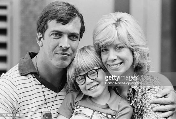 British actors, Norman Eshley, Nicholas Bond-Owen and Sheila Fearn ...