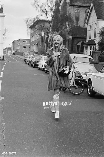 British actress Aimi MacDonald London 4th March 1971