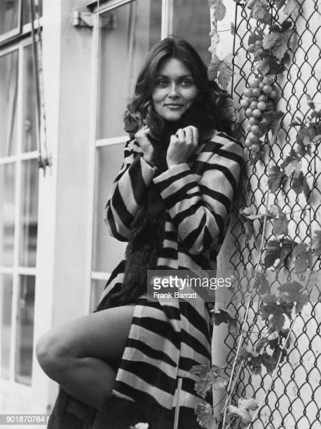 British actress Alexandra Bastedo star of 1960s television series 'The Champions' 5th September 1972