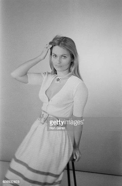 British actress Alexandra Bastedo UK 23rd April 1971