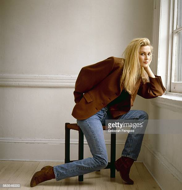 British actress Alison Doody poses for a portrait in February 1989 in New York New York