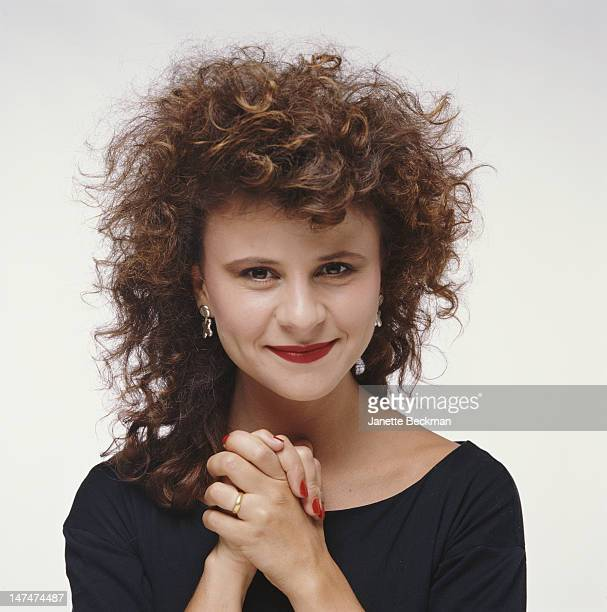 British actress and comedian Tracey Ullman New York City 1990