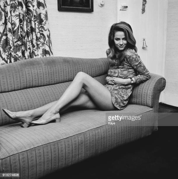 British actress and fashion model Charlotte Rampling London UK 17th February 1968