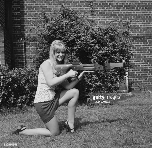 British actress and game show hostess Carol Dilworth, one of the successful applicants for a job as a hostess on television game show 'The Golden...