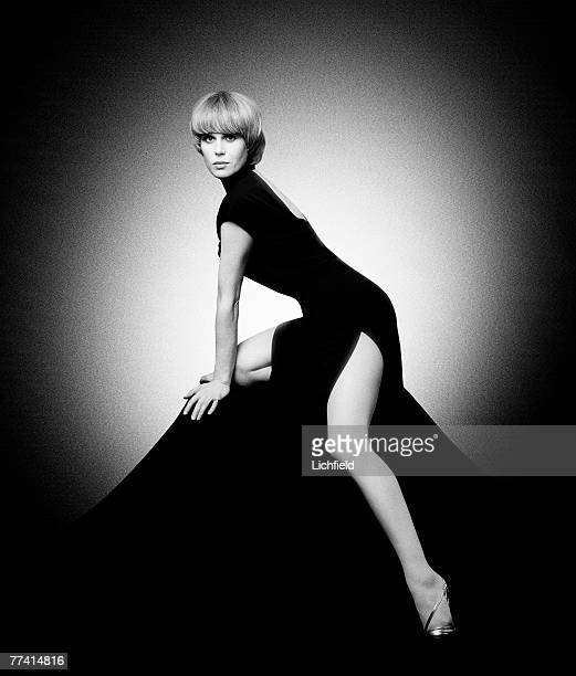 British actress and model Joanna Lumley in her role as Purdey in The New Avengers on 12th May 1977