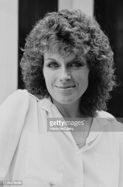 British actress and novelist Jill Gascoine UK 2nd September 1982