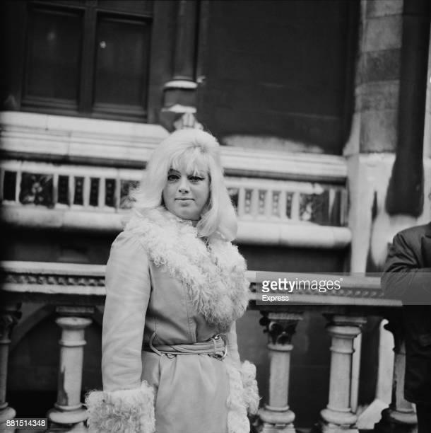 British actress and singer Diana Dors London UK 22nd January 1971