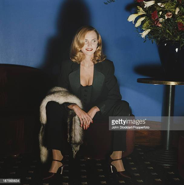 British actress and singer Tracy Shaw 1996