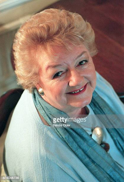 British actress and star of 'The Carry On' films Joan Simms who is releasing her autobiography 'High Spirits' on Thursday 8th May 2000