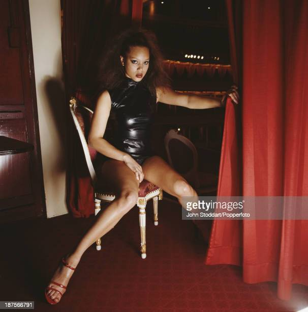 British actress and television presenter Angela Griffin circa 1998
