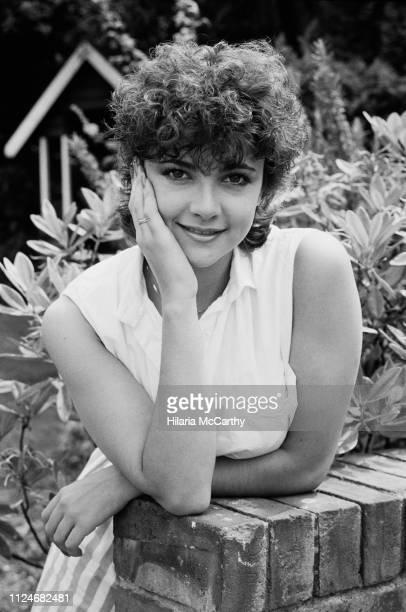 British actress and TV host Emma Samms UK 19th July 1983