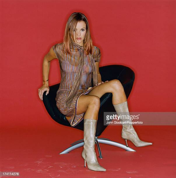 British actress and TV presenter Amanda Holden circa 1995