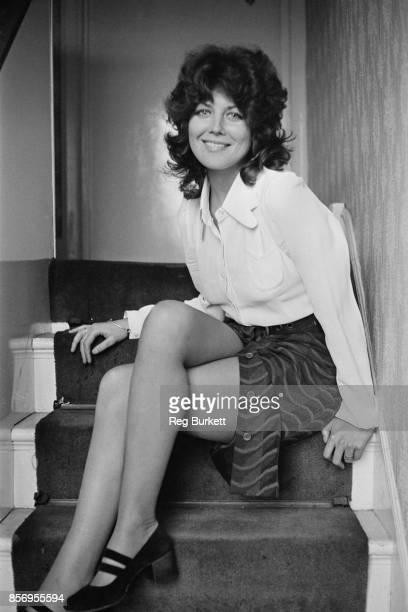 British actress and writer Fiona Lewis, 30th November 1970.