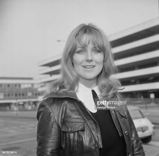British actress and writer Fiona Lewis, UK, 19th February 1968.