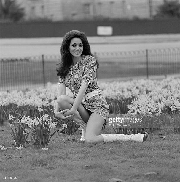 British actress Angela Grant UK 13th March 1971