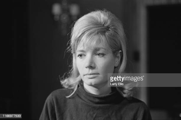 British actress Ann Bell, UK, 2nd April 1965.