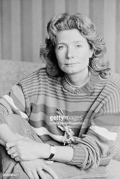 British actress Ann Bell who plays Marion Jefferson in the television drama series 'Tenko' in London on 24th September 1984.