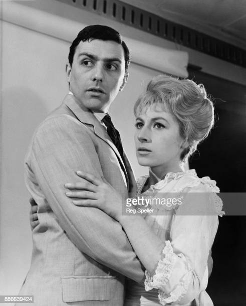 British actress Ann Lynn as Freya with actor Neville Jason as Jasper Allen in the BBC Sunday Night Play 'Freya of the Seven Isles' based on the short...