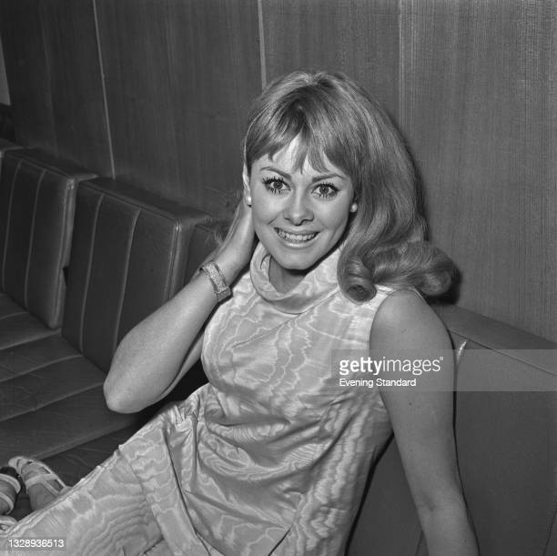 British actress Ann Sidney, winner of the 1964 Miss World Contest as Miss United Kingdom, UK, 6th October 1965.